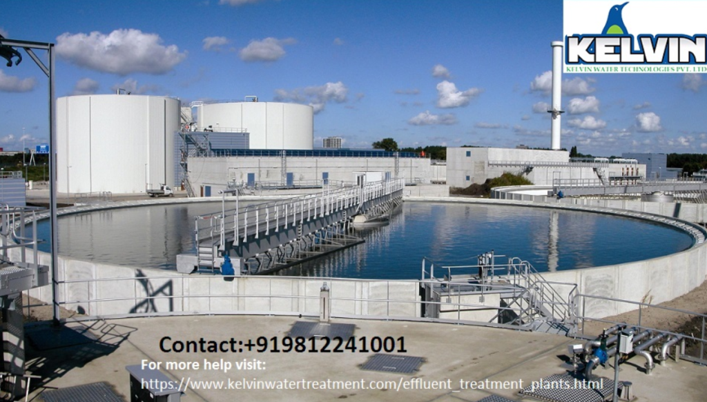 Effluent Treatment Plant- This image is related to the Kelvin ETP installed in an industry.